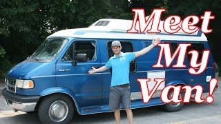rv class b campervan tour that i will be living in full time