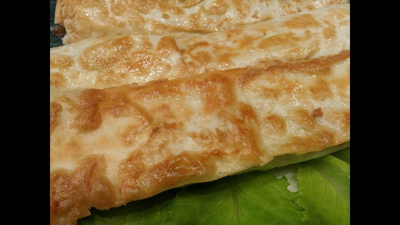 Её всегда мало.Лучшая закуска из лаваша.Быстрый завтрак.pita appetizer.a quick breakfast.appetizer.