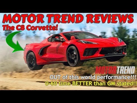 Motor Trend's 2020 C8 CORVETTE REVIEW IS LIVE! Better performance than we ever thought!! 😲