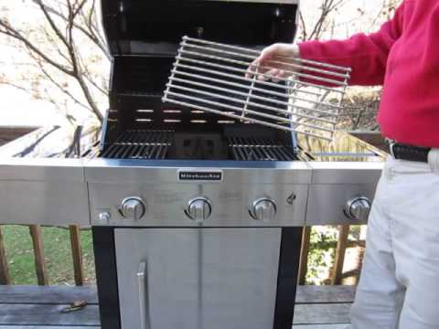 Marvelous Kitchenaid 720 0787D, 3 Burner Grill With Side Burner
