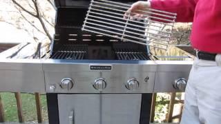 Kitchenaid 720-0787D,  3-Burner Grill with Side Burner