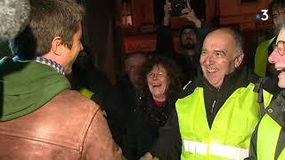 François Ruffin à la rencontre des gilets jaunes dans le Gard et l'Hérault