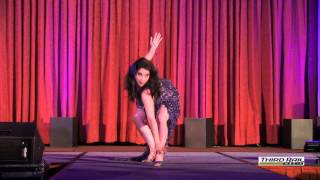 Burlesque dancer Indigo Blue at IMsL 2013. Video courtesy of Third ...