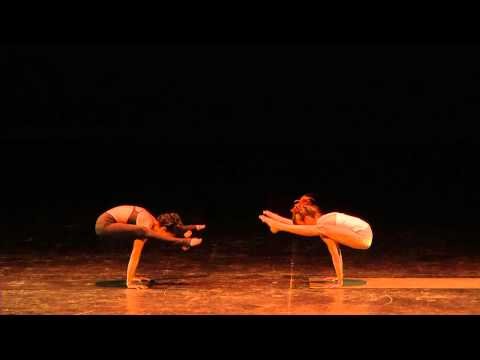 Ashtanga Yoga Demonstration : City Dance Spring Onstage | Feat. Magnoilia Zuniga and Jessica Walden
