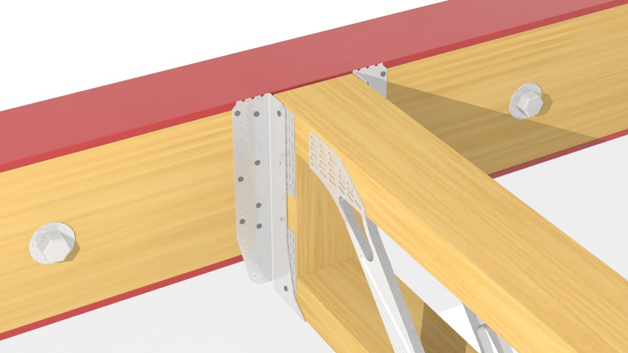How To Install A Uh To Steel Beam With Packer Within Open