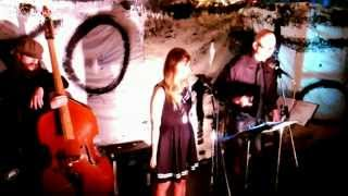 HARD KNOCK SKIN: A Jazz Poetry Epic by Kit Chell LIVE at Cush Cafe, Eugene, Oregon 1/9/15
