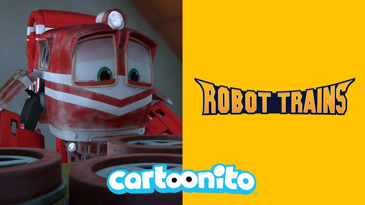 Robot Trains | Repairing the Clock Tower | Cartoonito UK