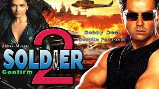 SOLDIER 2  Official Trailer | BOBBY DEOL | Deepika Padukone | ABBAS MUSTAN | BIG ACTION MOVIE