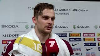 Teodors Bļugers pēc uzvaras pār Dāniju (1:0) un iekļūšanas PČ 1/4 finālā