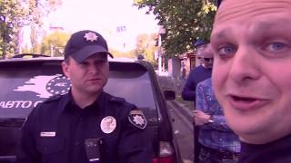 Бронелобая 'Police' VS Гармон *** штраф за поворотник 450грн.