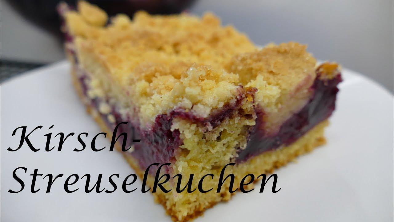 Thermomix Tm5 Kirsch Streuselkuchen Wie Vom Bäcker Youtube
