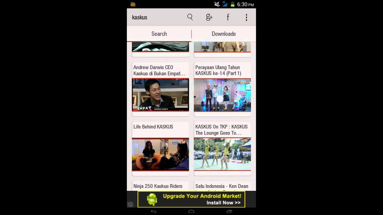 Cara download video di youtube di android youtube.