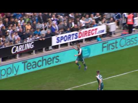 HIGHLIGHTS: NEWCASTLE UNITED 2 WIGAN ATHLETIC 1 - 01/04/2017