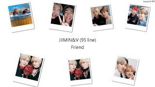 【中字】JIMINu0026V(BTS) - Friend(친구)
