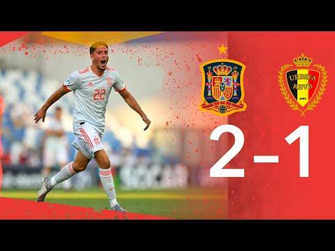 RESUMEN | España 2 - Bélgica 1 (EURO Sub-21)