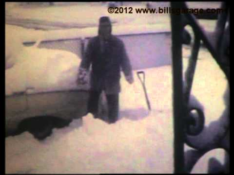 Memphis Record Snow Storm March 22,1968 16.5in