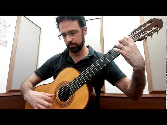 Beginning Classical Guitar: Sor Study Op. 44, No. 1
