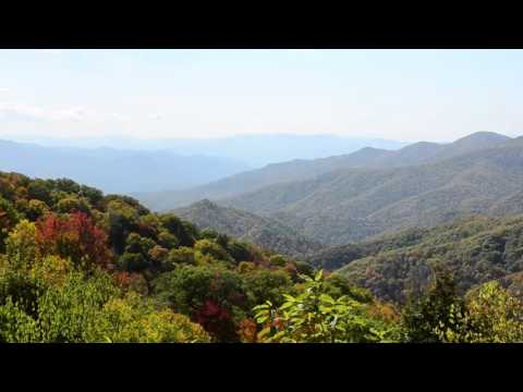 Great Smoky Mountains National Park fall colors Oct 16th 2015