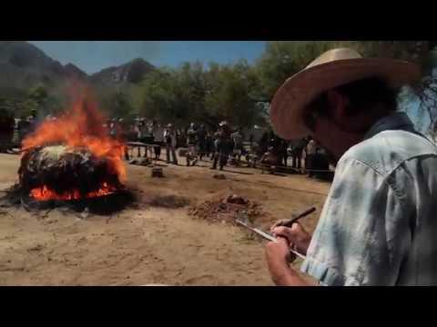 Pithouse Burn at Steam Pump Ranch