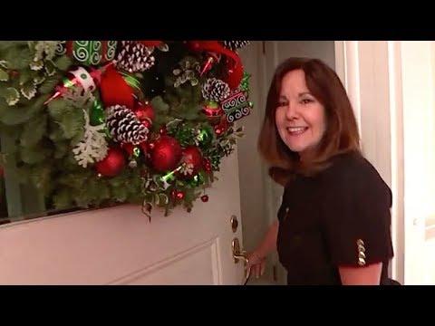 Karen Pence Shows Off VP Residence Decorations