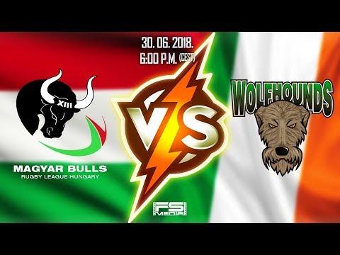 Hungary - Ireland |  RLEF International Rugby League Test  | 30. June 2018. | ENG LIVE STREAM