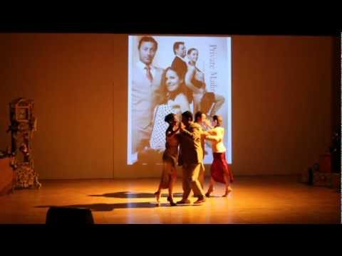 Tangosentiment. Group performance athe Emirates Theater in dubai.