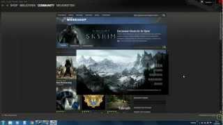Skyrim Tutorial #1 Mods auf Steam installieren