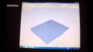 大型3Dプリンタ「Objet1000」