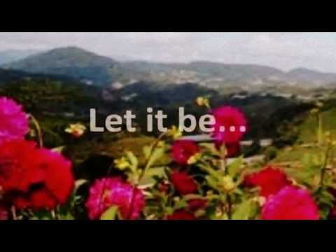 LET IT BE (Lyrics) - JUDY COLLINS