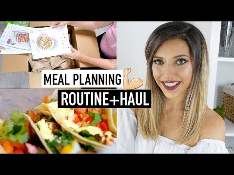 MEAL PLANNING ROUTINE, GROCERY HAUL + WEIGHT LOSS UPDATE | A