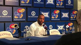 OSU Basketball - Mike Boynton on loss to Kansas