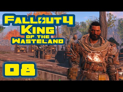 Pilfered Power Armor - Fallout 4: King of the Wasteland Challenge [Survival Mode] - Part 8