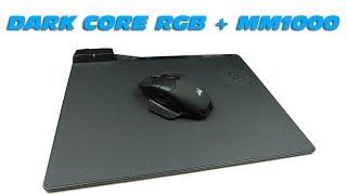 CORSAIR Dark Core RGB + MM1000 - Unboxing & Kurzreview