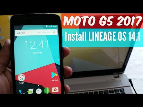 Moto G5 2017 |INSTALL LINEAGE OS 14.1| ANDROID 7.1.2