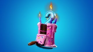 *NEW* Fortnite BIRTHDAY Challenges! FREE REWARD UNLOCKS! (Fortnite Battle Royale Live)