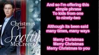 Scotty McCreery - The Christmas Song (Lyrics)