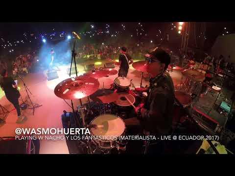 Wasmo Huerta Playing w Nacho y Los Fantásticos (Materialista - Live @ Ecuador 2017) thumbnail