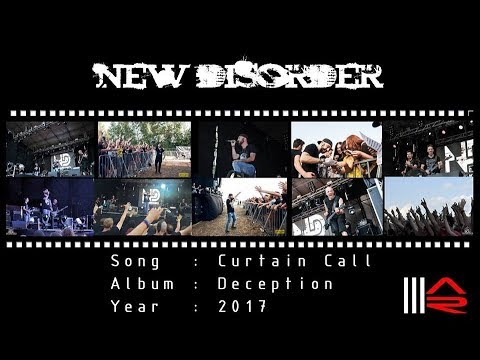 NEW DISORDER - Curtain Call (Official Live Video)