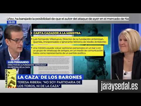 Los cazadores dejan a PACMA sin argumentos en un debate en Antena 3