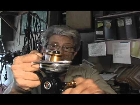 EBay Vintage Penn 722Z Spinning Reel Demo