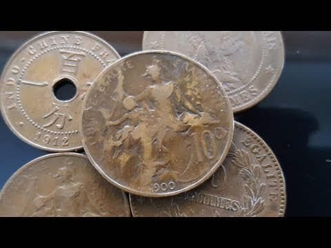 New exciting French coin lot