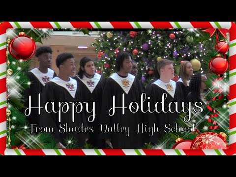 Happy Holidays from Shades Valley High School 2019