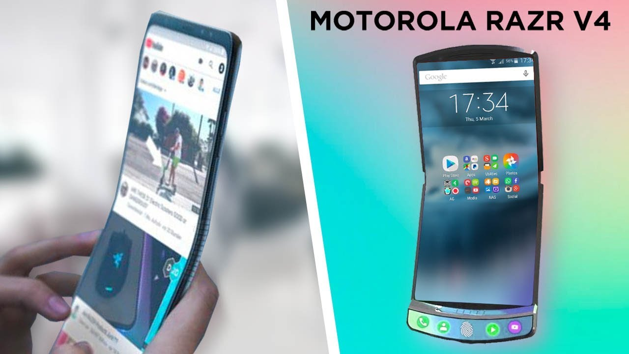 Motorola RAZR V4 Foldable Phone LEAKED! Pricing, Release Date, Screen Size,  Special Features & More!