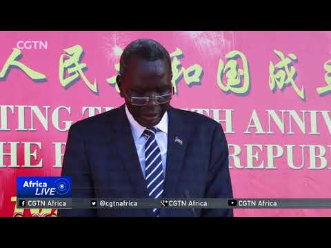Juba vows to strengthen ties with new CPC central committee