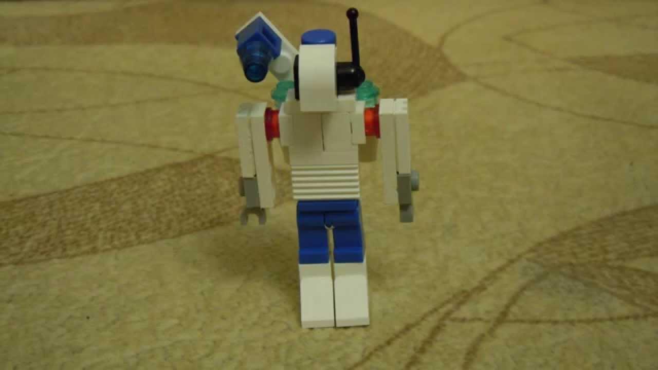 Как сделать маленького робота из лего фото 255