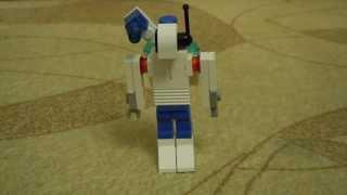 как сделать лего боевого робота-киборга