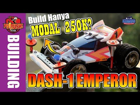 【ミニ四駆】 RAKIT MURAH Tamiya Dash Emperor Untuk Street Mini 4WD (Budget Build)