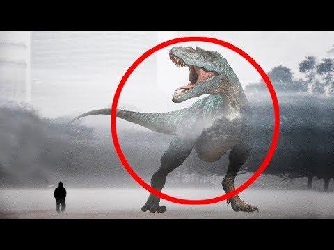 7 Dinosaurios REALES Captados en Cámara 2