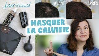 MASQUER LA CALVITIE AVEC LE KIT KERATINE HAIRVISUAL + CONCOURS