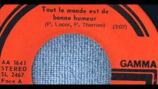 Tex Lecor - Tout Le Monde Est De Bonne Humeur - 45 tours Gamma